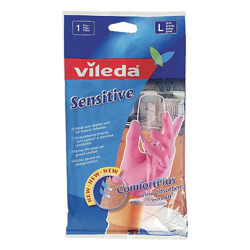 Vileda Sensitive huishoudhandschoenen L