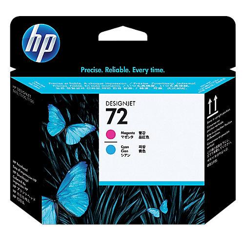 HP 72 - Inktcartridge / Magenta / Cyaan
