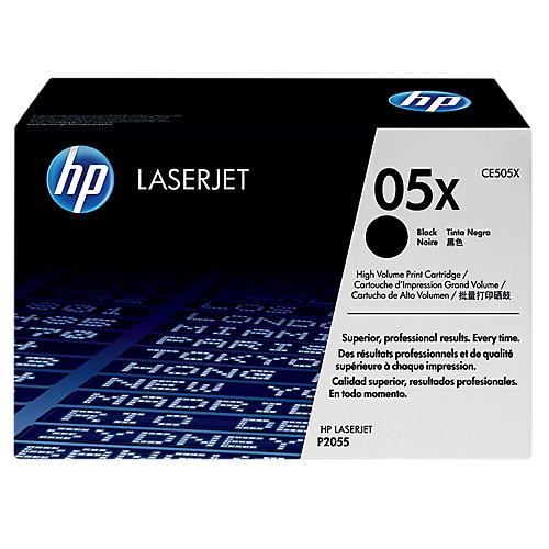 HP Dubbelpak inktpatronen »HP CE505XD«