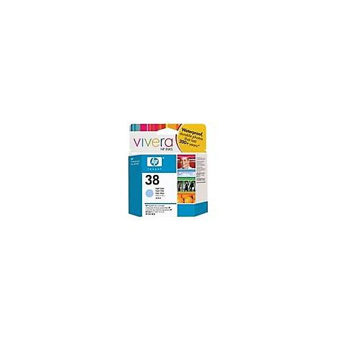 HP 38 - Inktcartridge / Licht Cyaan