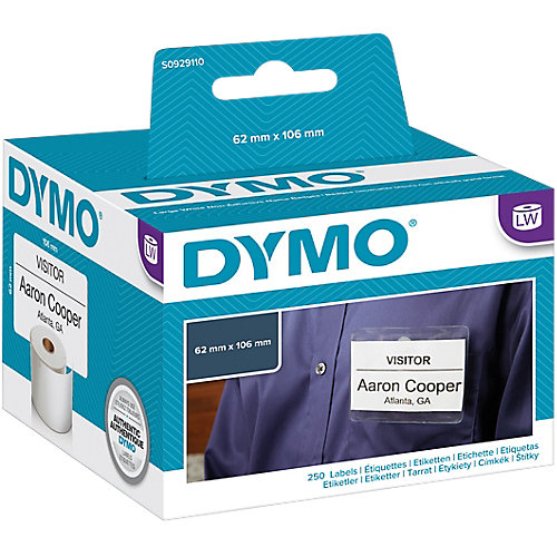 DYMO Etiketten 106x160 mm