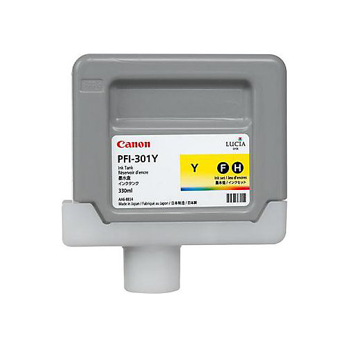 Canon PFI-301M - Inktcartridge / Pigment Geel