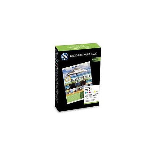 HP Inktpatronenset »HP 940XL« met papier