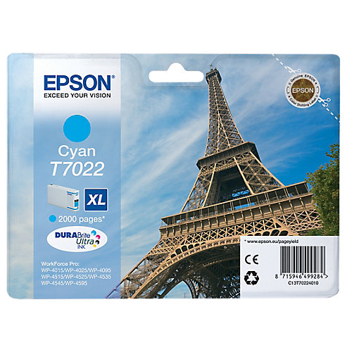 Epson Inktpatroon XL »T7022«