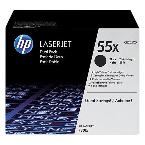 HP 55XD LaserJet Toner Zwart Dual Pack