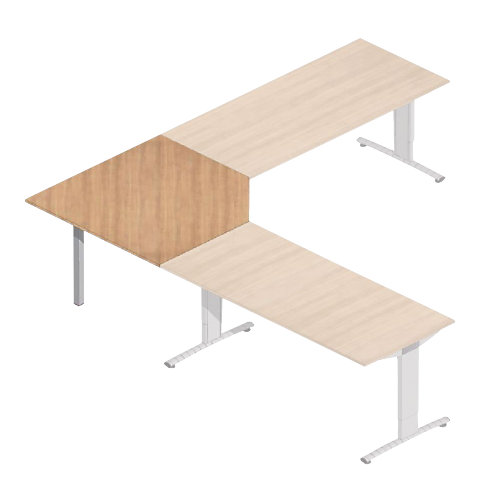 hoekbureau kopen online internetwinkel. Black Bedroom Furniture Sets. Home Design Ideas