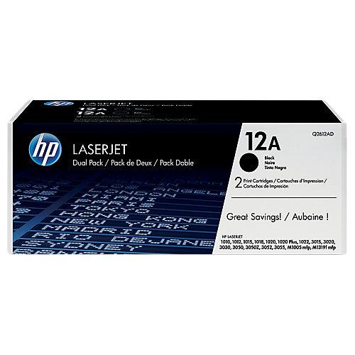 HP Dubbelpak inktpatronen »HP Q2612AD«