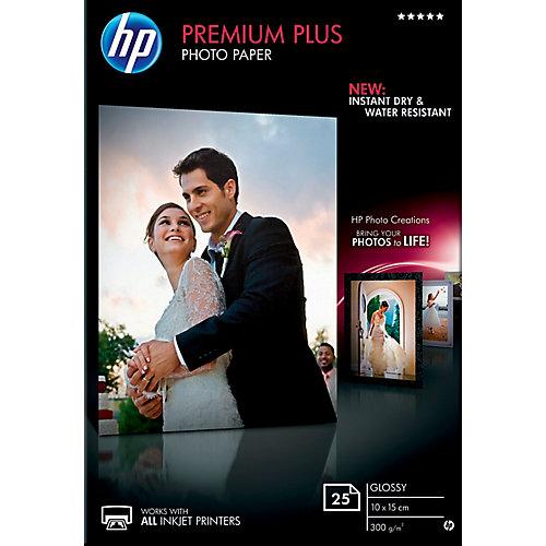 CR677A Premium Plus Glossy Fotopapier 10 x 15 cm