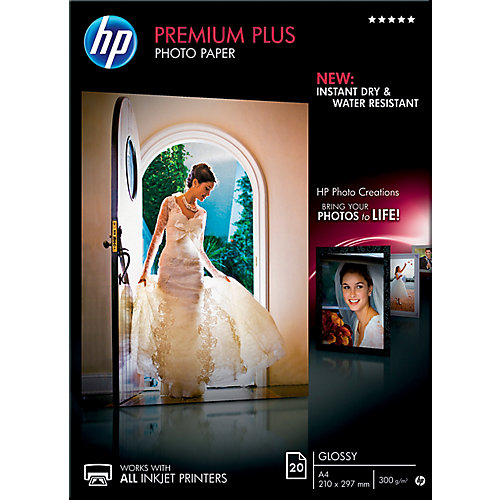 HP Fotopapier »HP premium plus photo paper«