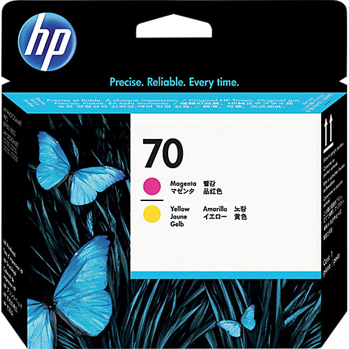 HP print head no.70 magenta and yellow for the Z2100/Z3100/B8000 and Pro B9100 series