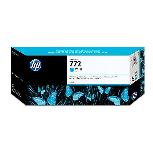 HP 772 - Inktcartridge / Cyaan