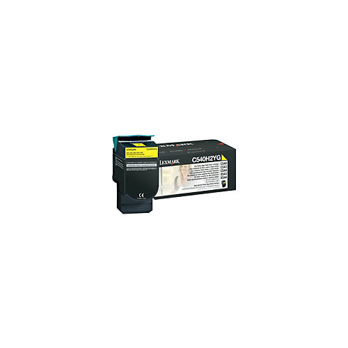 Lexmark E12 C540 C543 C544 X543 X544 toner cartridge yellow 2K