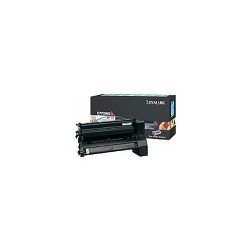 Lexmark C7700MS Tonercartridge Cyaan