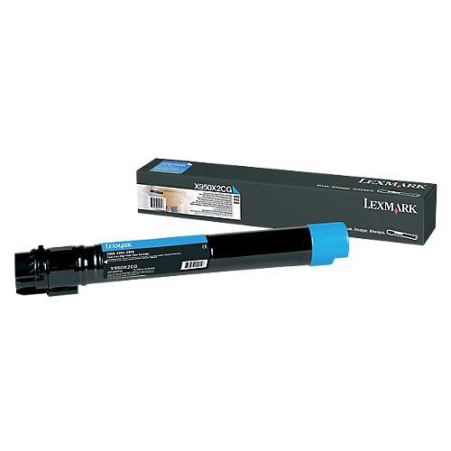 Lexmark X950X2CG - Tonercartridge Cyaan - Hoge capaciteit