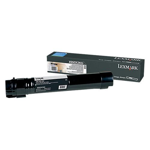 Lexmark X950X2KG - Tonercartridge Zwart - Hoge capaciteit