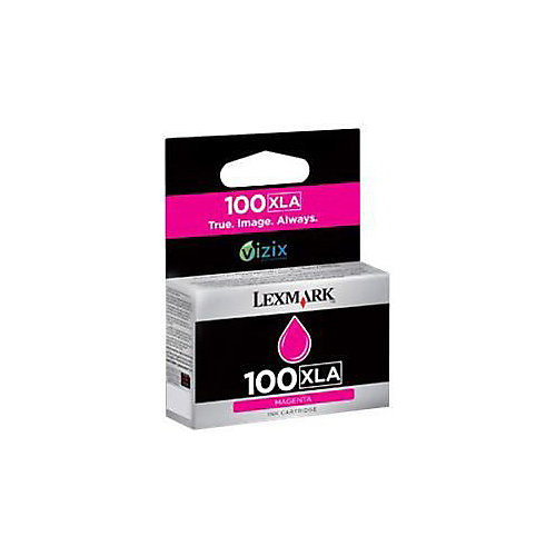 Lexmark 100XLA Inktcartridge - Magenta