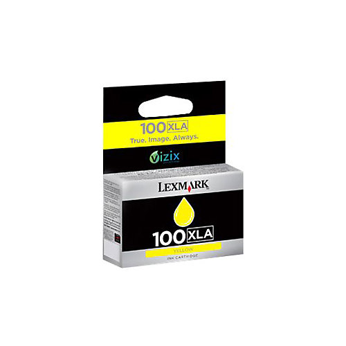 Lexmark 100XLA - Inktcartridge / Geel / Hoge Capaciteit