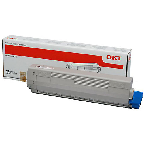 Black toner C822 series (7K*)