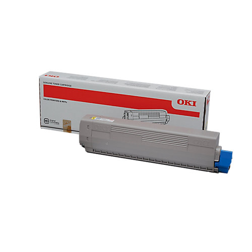 Yellow toner C822 series (7.3K*)