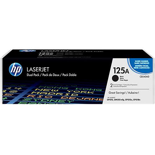 HP 125AD LaserJet Toner Zwart Dual Pack