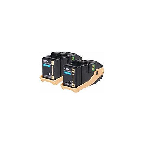 AL-C9300N Double Pack Toner Cartridge Cyan 7.5kx2
