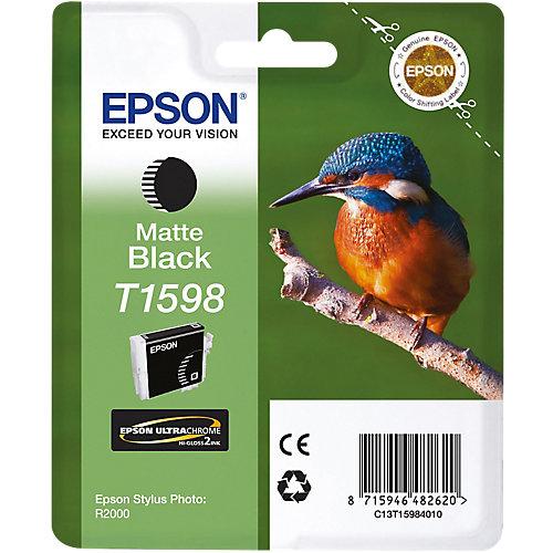 Epson T1598 - Inktcartridge / Mat zwart