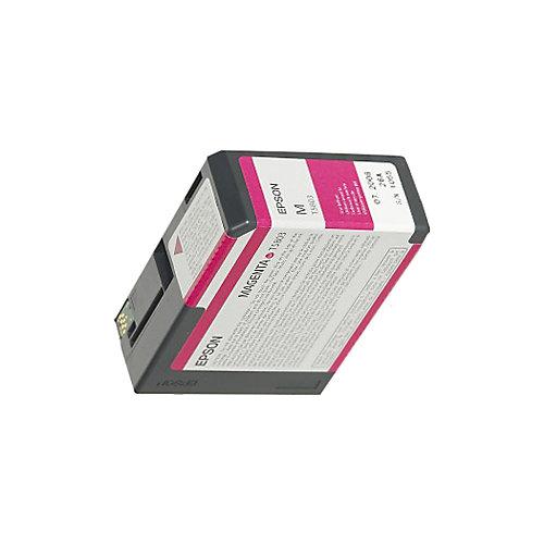 Epson T580A00 Vivid Magenta Ink Cartridge (helder rood)