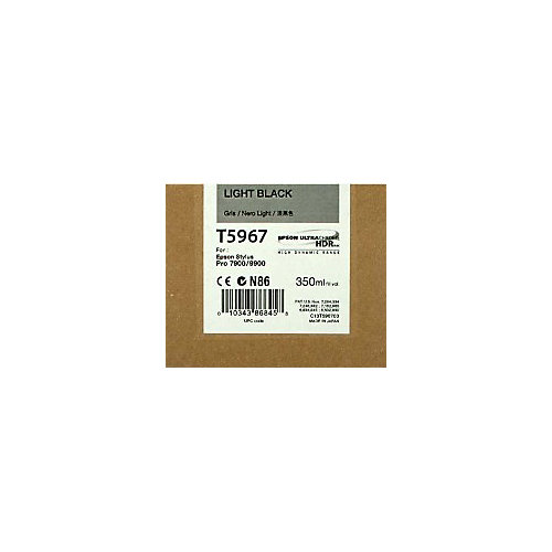 Epson T5967 - Inktcartridge / Zwart