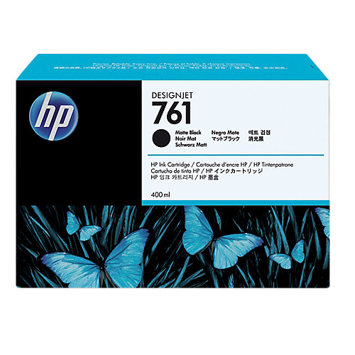 HP 761 - Inktcartridge / Mat Zwart