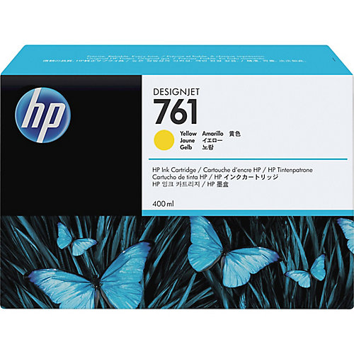 HP 761 - Inktcartridge / Geel