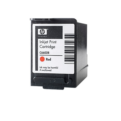 HP C6602R Inktcartridge - Rood