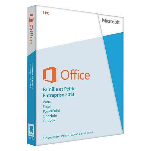 MS Office Home and Business 2013 32-bit/x64 Eurozone Medialess (FR)