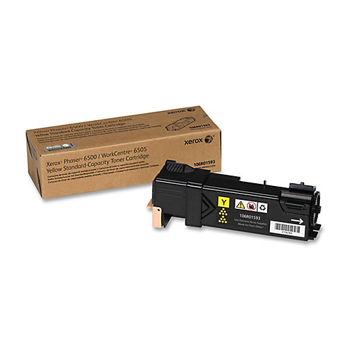 Phaser 6500+WorkCentre 6505\Standard Capacity Toner\Yellow  (1000 Pages)