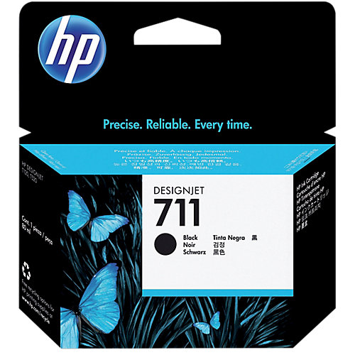 HP 711XL Ink Cartridge Zwart