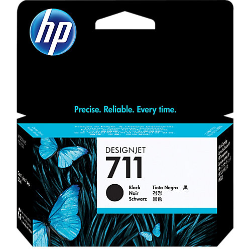 HP 711 Ink Cartridge Zwart