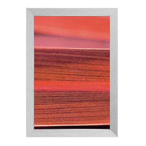 Sigel Lijst met diep profiel Gallery  Bold Zilver 500x500 mm