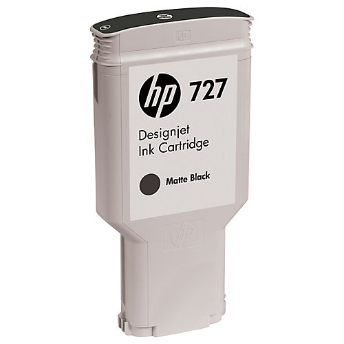 HP 727 300ml Matte Black Ink Cartr.