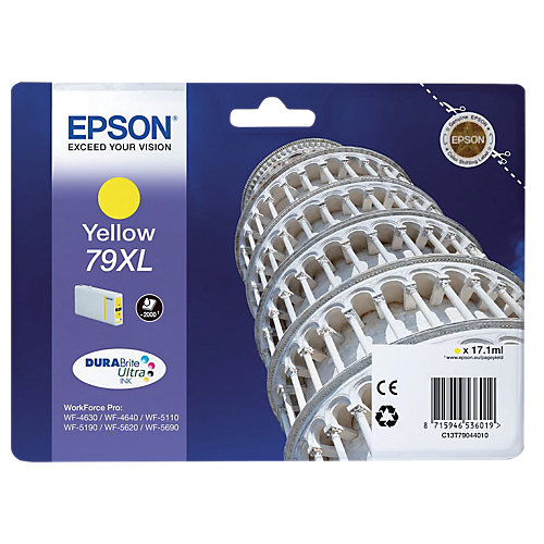 Epson 79 XL Cartridge Geel