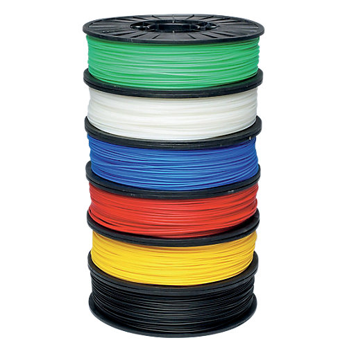 PP3DP 3D printer filament UP! Zwart 700 g