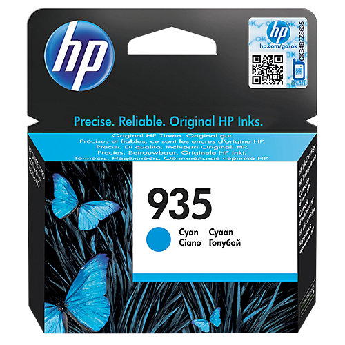 HP 935 Cartridge Cyaan (C2P20AE)