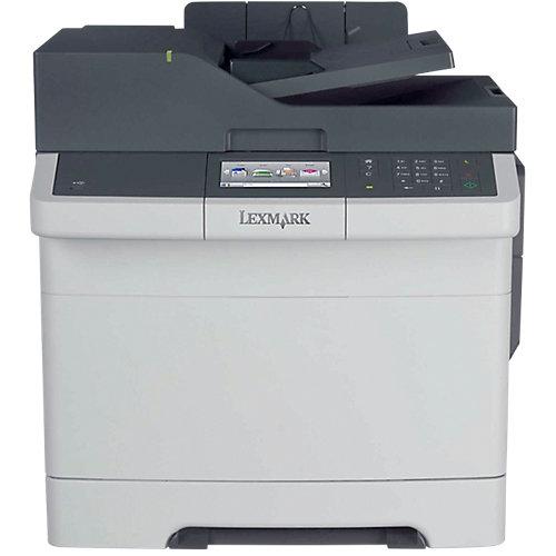 Lexmark CX410de kleurenlaser MFP\A4\50 vel\30 ppm\800 MHz\512 MB\1.4K CMYK tonercartridges