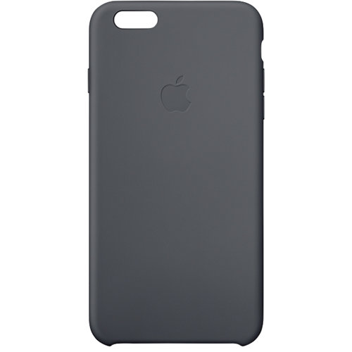 Apple Silicone Case iPhone 6 Plus Zwart