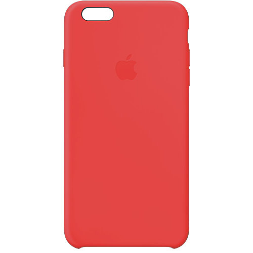 Apple Silicone Case iPhone 6 Plus Rood