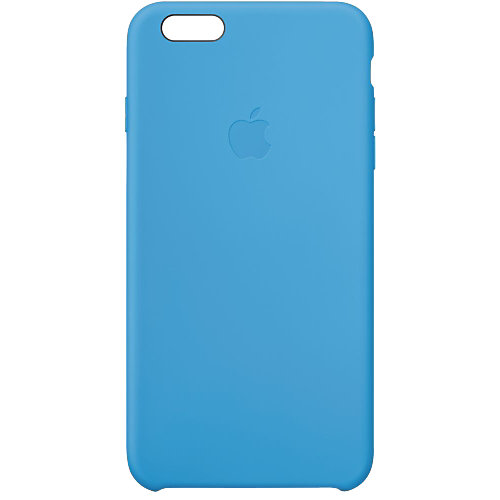 Apple Silicone Case iPhone 6 Plus Blauw