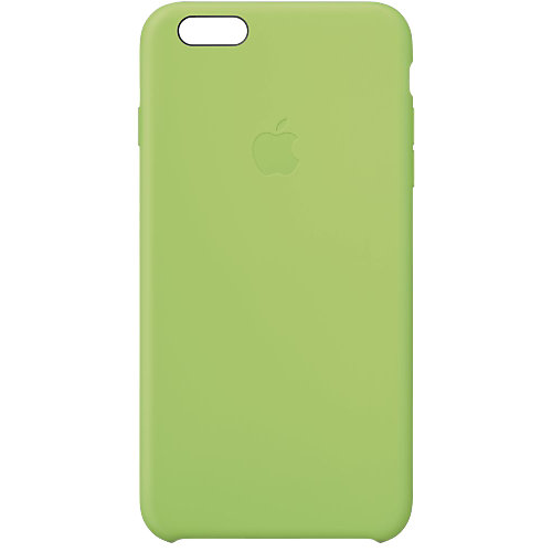 Apple Silicone Case iPhone 6 Plus Groen