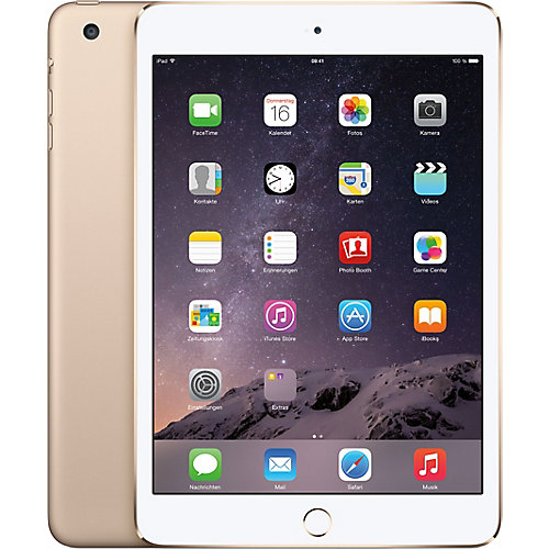 iPad Mini 3 128G Gold