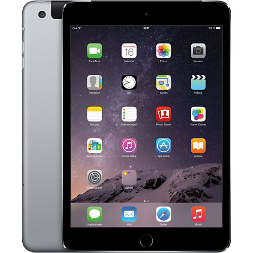 Apple iPad Mini 3 Wifi + 4G 128 GB Space Gray