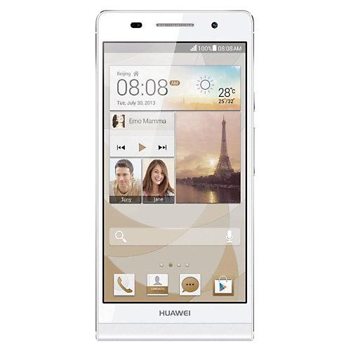 Huawei Mobiele telefoon P6 Wit Wit