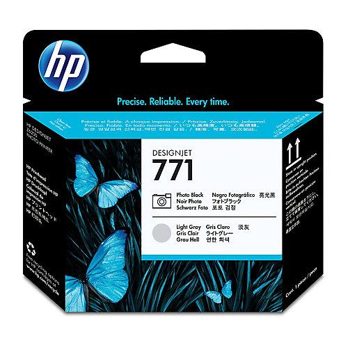 HP HPB6Y12A Inktcartridge B6Y12A Licht Cyaan