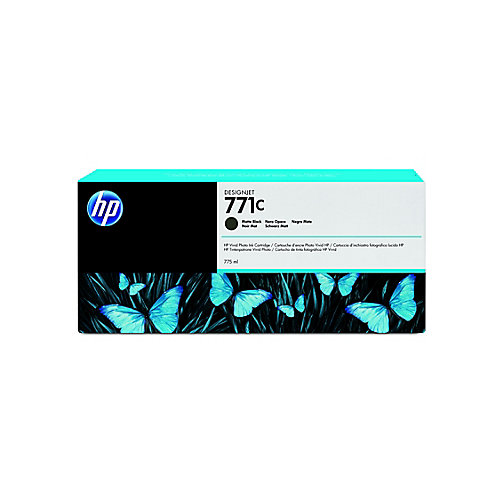 Ink Cartridge No 771C Matte Black 775ml